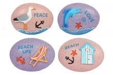 Beach Pebble - Assorted