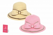 Ladies Bow Hat - Assorted
