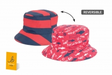 Younger Childs Beanie Hat - Reversible