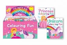 Colouring Pad - Unicorn and Princess