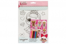 Colouring Set - LOL Surprise