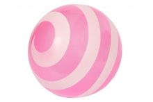 *FLAT* Playball - Clear Pink Swirl