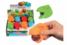 Dino Head Squeezer - With Beads