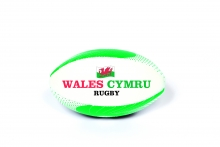 *INFLATED* Rugby Ball - Wales, Small