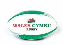 *INFLATED*  Rugby Ball - Wales, Large