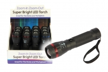 Super Bright LED Zoom Torch