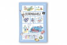 Cornwall Souvenir Tea Towel