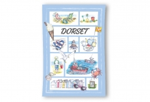 Dorset Souvenir Tea Towel