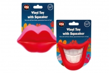 Novelty Dog Toy - Mouth/Lips