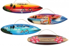 Large Hanging Surfboard - Named