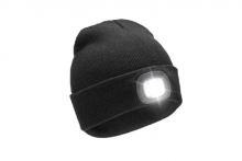 Mens Beanie Hat with Light
