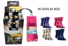 'Jeep' Socks in Display Unit