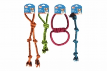 Dog Tugger Rope - 4 Assorted