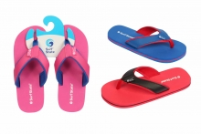 Child Flip Flops - Fabric Strap, Size 10-2