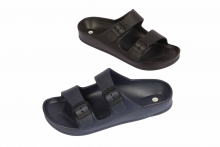 Mens Double Strap Sandals, Sizes 6-11