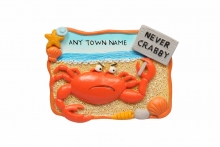 Magnet - Crabby Crab, Named