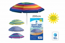 Parasol - Nylon, UV Protection, 200cm