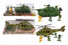 Tank/Helicopter Set - Assorted