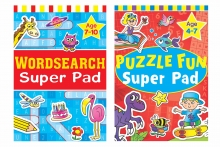 Puzzle/Wordsearch Super Pad