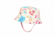 Childs Woodland Hat - Reversible