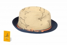 Boys Sharks Trilby Hat