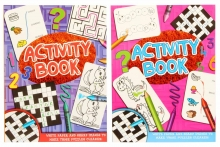 Activity Book- 2 Assorted