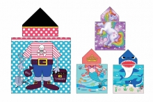 Childs Beach Poncho-Assorted Designs