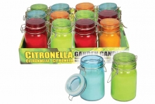 Citronella Candle In Hanging Jar