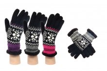 Ladies Gloves - Fairisle