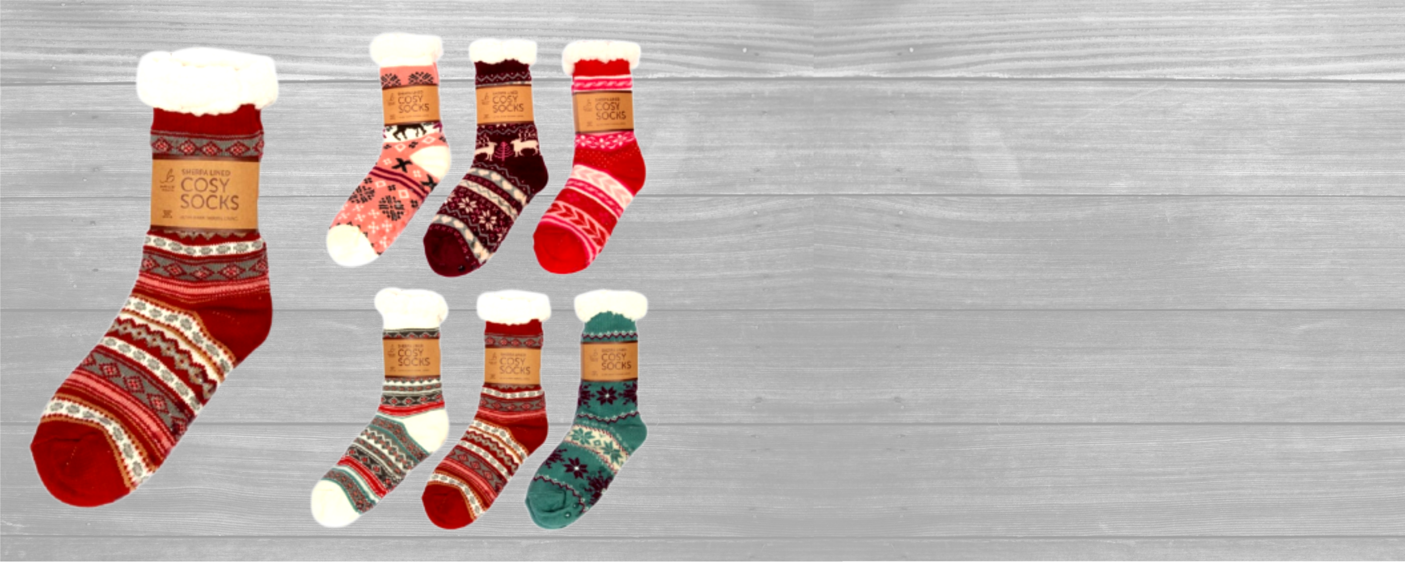BEST SELLING COSY WINTER SOCKS!